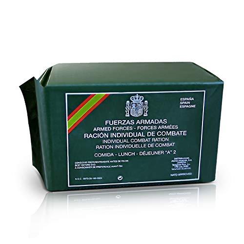 FFAA Comida Militar Española MRE Ración Individual de Comb