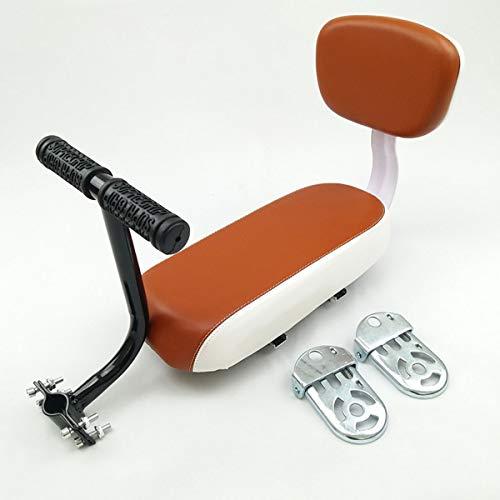 Bike rear seat Sedile Posteriore per Bicicletta, Sedile in Pelle per Cuscino Posteriore in Morbida...