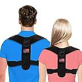 Posture Corrector For Men And Women - Adjustable Upper Back Brace For Clavicle To Support Neck, Back...