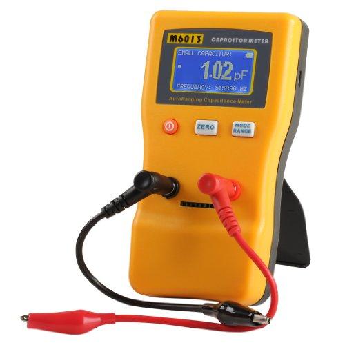 Excelvan M6013 Digital Auto Ranging Capacitance Meter Capacitor Tester