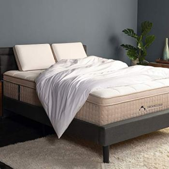 DreamCloud Queen Mattress - Luxury Hybrid Mattress with 6 Premium Layers - CertiPUR-US Certified - 180 Night Home Trial - Everlong Warranty