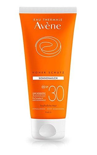 Avène Sonnenmilch SPF 30, Spar-Set 2x100ml; Hoher Sonnenschutz für den Körper; schützt zuverlässig vor starker UV-A-und UV-B-Strahlung und macht die Haut geschmeidig