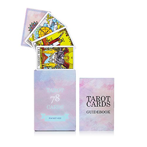 MandAlimited 78 Tarot Cards Deck - Pocket Size with...