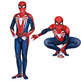 Spider Man PS4 Insomniac Spiderman Costume 3D Print Spandex Halloween Zentai Suit Adult/Kids...