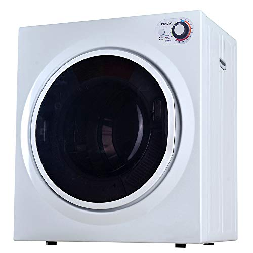 Panda PAN760SFT Apartment Size Portable Compact Cloth Dryer, 3.5 cu.ft Laundry 13 lbs Capacity, Control Panel Upside