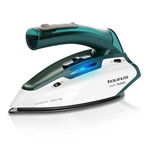Taurus Easy Ferro Stiro da Viaggio Vapore, Piastra Ceramica,1150W.,doppio voltaggio, 120-240 V.,...