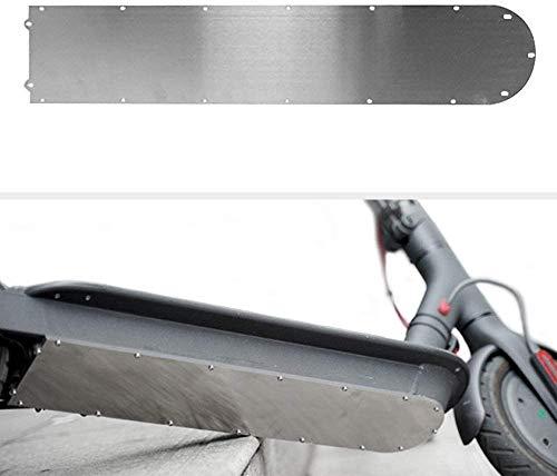 Linghuang Scooter Batería Cubierta Protectora Panel Anticolisión para Xiaomi M365 Protección de Placa de Scooter Eléctrico (para M365)