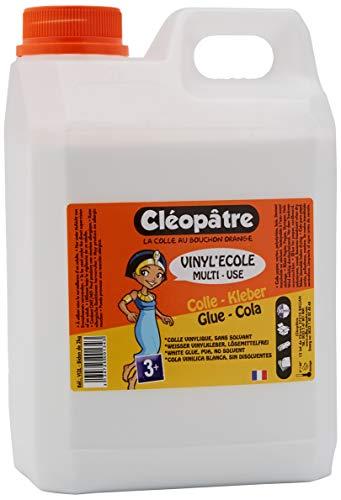 CLEOPATRE Cola, Cartera Unisex Infantil, Blanco (Blanco), 20