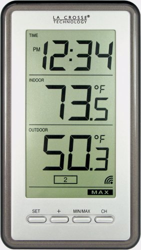 La Crosse Technology WS-9160U-IT-INT Digital Thermometer