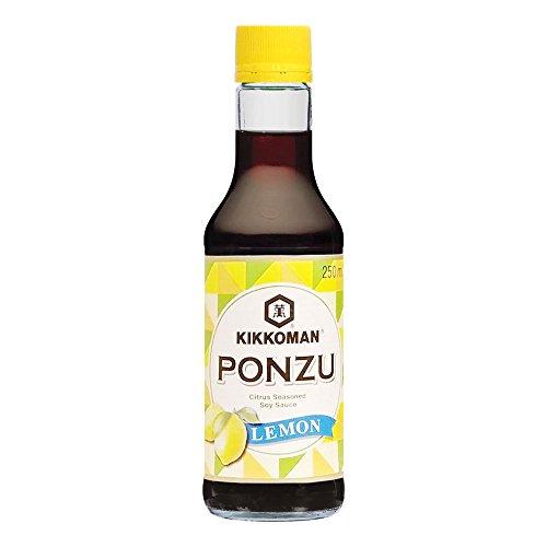 Salsa ponzu de soja al limón botella 250 ml