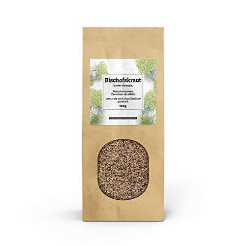 Valdemar Manufaktur Premium KHELLA-Tee 100g (Bischofskraut-Früchte) - HANDVERPACKT In Deutschland