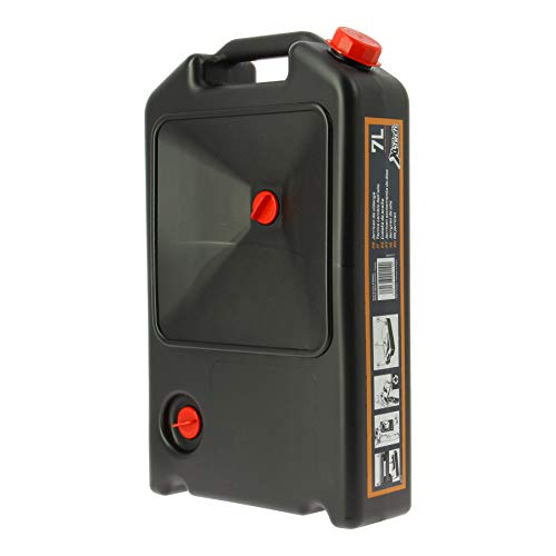 XL Tech 300110 Kanister für Ölablass, 7 l, flach