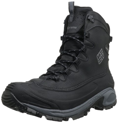 Columbia Men's Bugaboot Wide Snow Boot,Black/Charcoal,12 W US