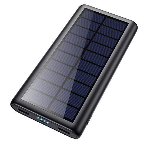 Feob Multifonctionnel Batterie Externe Chargeur Solaire 26800mah【2020...