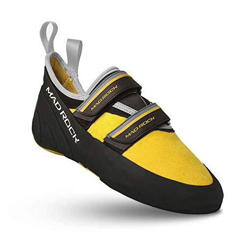 Mad Rock Flash 2.0 Climbing Shoe - Yellow Size 3