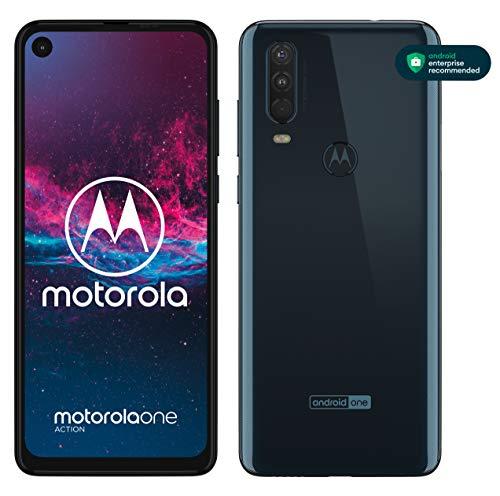 Motorola One Action - Smartphone Dual SIM (Triple cámara: 12 MP...