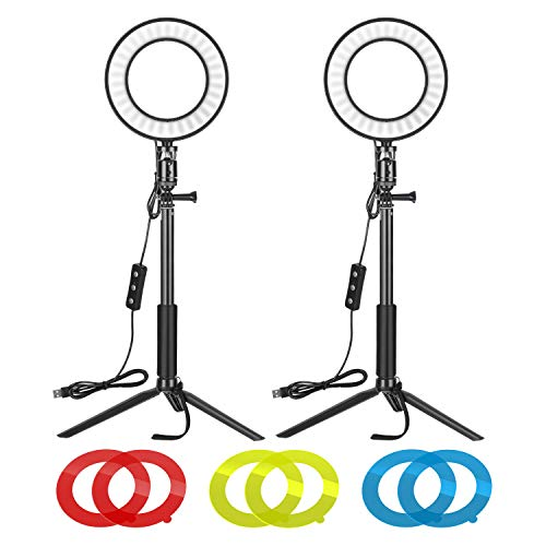 Neewer Video Conference Lighting Kit for Zoom Call Meeting/Self...