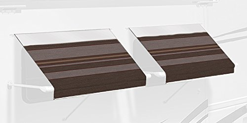 Carefree IE0557B00 SL Premium Chocolate 5.5' Long RV Camper...