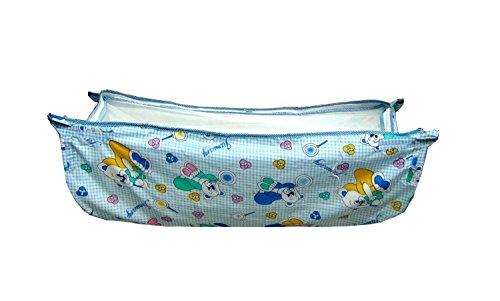 kaushalendra Cradle Cloth Swing Hammock Soft Cotton Multicolor with net Baby Fill RLX