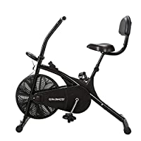 COMPACT SPACE SAVING DESIGN -- This exercise cycle occupies minimum space and weighs less than 20 kg. It is ideal cardio exercise equipment for home gym VARIABLE WORKOUT INTENSITY -- Tension controller knob allows adjustment of resistance level thus ...