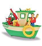 Simba - Sam le Pompier - Bateau de Pêche Flottant - Grue Mobile + Treuil...