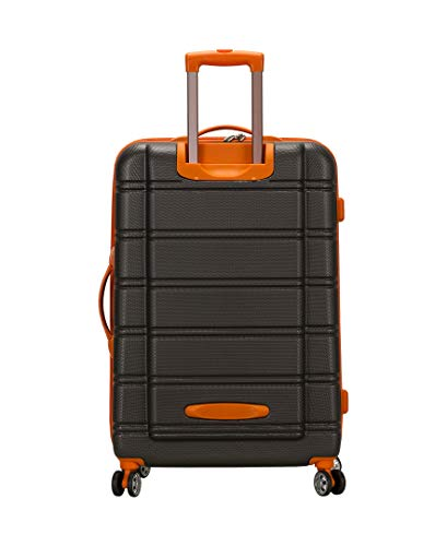 Product Image 4: Rockland Melbourne Hardside Expandable Spinner Wheel Luggage, Charcoal, 2-Piece Set (20/28)