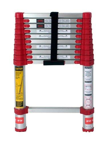 10. Aluminum Telescoping Extension Ladder