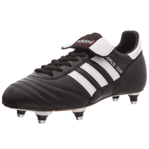 Adidas - World Cup, Scarpe Da Calcio, unisex, (Schwarz/Weiß), 41 1/3 EU