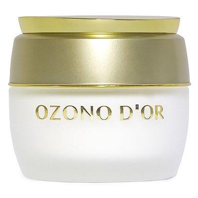 Ozono D'Or Crema per il viso anti-età, da notte, 50g, crema naturale all'ozono antirughe