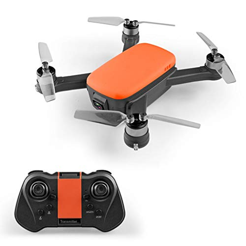 FairOnly Drone 913A GPS RC senza spazzole con elica pieghevole 5G Wifi FPV 1080P HD Telecamera GPS Quadcopter Batteria arancione 1 giocattoli