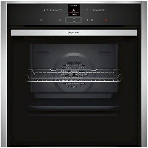 Neff B47CR32N0 forno Forno elettrico 71 L 3650 W Nero, Acciaio inossidabile A+