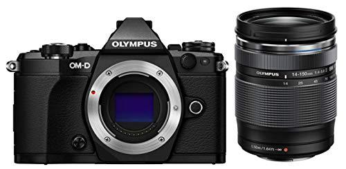 OLYMPUS ミラーレス一眼 OM-D E-M5 MarkII 14-150mm IIレンズキットブラック E-M5 MarkII 14-150mm IILK BL...