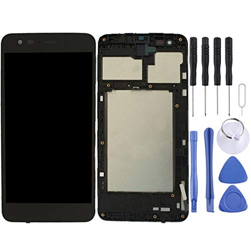 WANGZHEXIA Reemplazo de la Pantalla del teléfono Montaje Completo de Pantalla LCD y Digitalizador con Marco para LG K4 2017 / M160