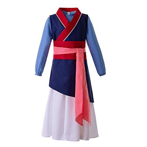 Pettigirl Disfraz de Princesa Heroína China para niña (9-10 años, Princesa China)