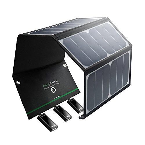 RAVPower Caricabatterie Solare Portatile da 24W