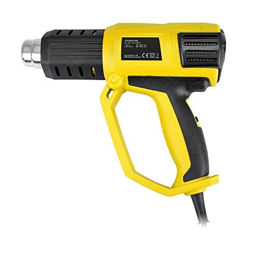 TROTEC Pistola ad aria calda HyStream 2000 - set di ugelli inclusi nella fornitura per diverse applicazioni