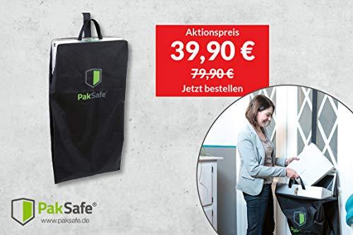 PakSafe Paketbriefkasten inkl. Versicherung, für zuhause mit Schließfunktion, Paketbox für alle Postdienste - 9
