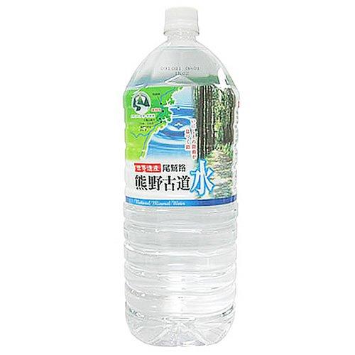 [2CS] 尾鷲名水 熊野古道水 (2L×6本)×2箱