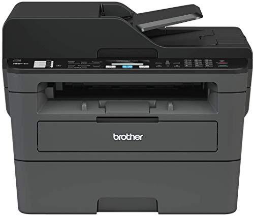 Brother MFC-L2710DN Stampante Multifunzione Laser 4 in 1 Bianco e Nero, Velocit di Stampa 30 ppm, Scheda di Rete Cablata (no WiFi), Stampa Fronte/Retro automatica, ADF da 50 Fogli, Display LCD