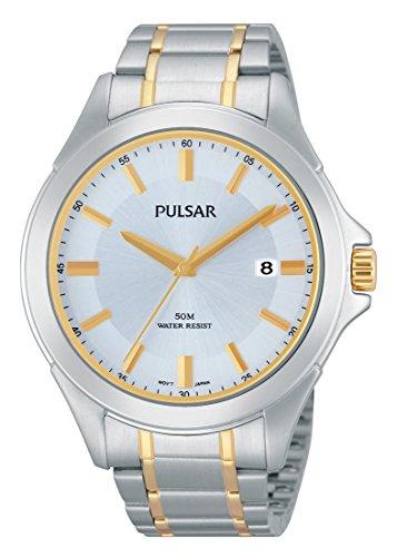 Pulsar Herren-Armbanduhr XL Modern Analog Quarz Edelstahl PS9311X1