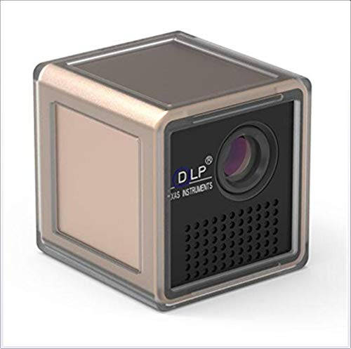 XHLLX P1S Mini Proiettore DLP LED USB WiFi TF Card 40 ANSI Lumen 50Inch Home Theater 5V
