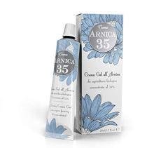 Arnica 35 - LA PIÙ CONCENTRATA - Crema Gel all'Arnica concentrata al 35% - ELIMINA EMATOMI - RIDUCE GONFIORI, DOLORI MUSCOLARI E ARTICOLARI