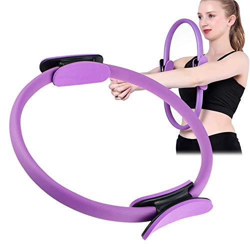 Pilates Ring,Pilates Circle,Widerstandsring Loop,Yoga Circle, Halloween Pilates Circle,Doppelgriff Pilates Yoga Ring 39 cm Übungskreis für Fettverbrennung Stärkung der Inneren und äußeren Oberschenkel