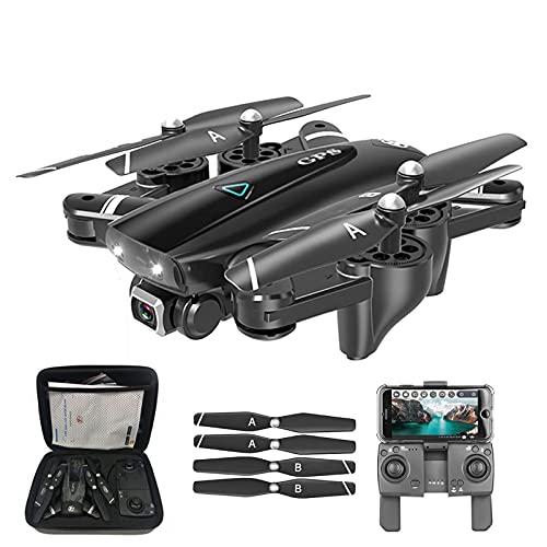 WECDS Drone telecomandato con Fotocamera ad Alta Definizione 720P, quadricottero con Funzione di Trasmissione in Tempo Reale 5G
