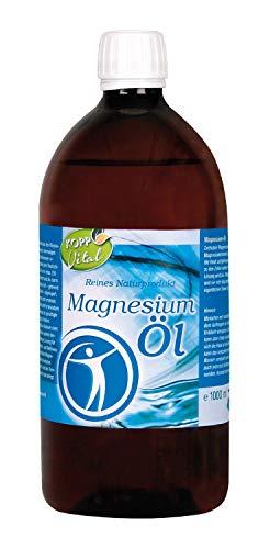 Kopp Vital Magnesium-Öl 100% Zechstein 1000 ml | vegan | für Anwendungen im Gesundheits- und Wellnessbereich | 1ml enthält ca. 100mg Magnesium (Mg2+)