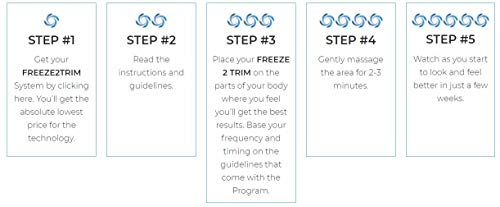 Freeze2Trim Ultimate Fat Freezing System - Designed to Trim Fat Cells at Home Convenient & Simple (Gold) 7