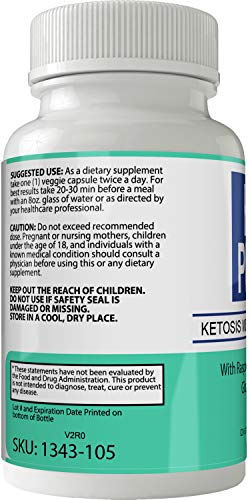 Keto Pharm Diet Pills Advanced Weight Loss Supplement Capsules with Garcinia, Raspberry Ketones 3