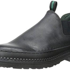 Georgia Men's GR270 Giant Romeo Work Shoe-M Steel Toe Boot, Black, 9.5 W US