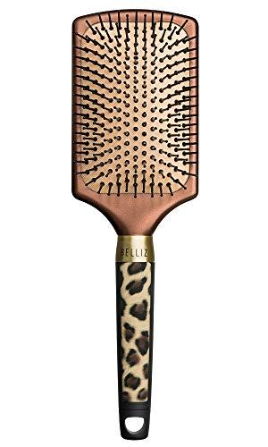 Escova Elegant Racket, Belliz, Dourado, Belliz, Dourado