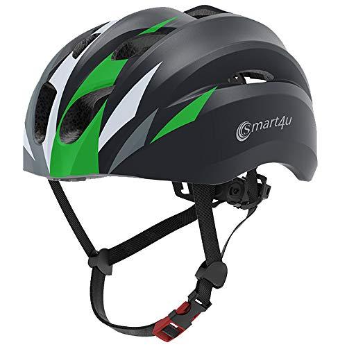 Smart4u MTB SH20 Bluetooth Cycling Helmet Adult Men Women Music Helmet Bluetooth for Music, Calls and Navigation